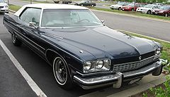 1973 Buick Electra coupe