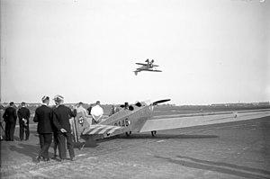 Gerhard Fieseler - Gerhard Fieseler performing an upside-down flight