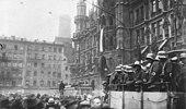 Гитлеровский путч на Мариенплац в Мюнхене