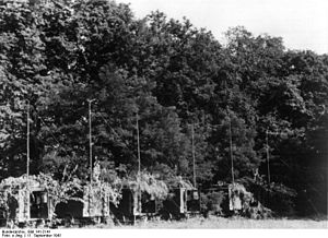 5th Air Corps (Germany) - Radio station of the 5th Air Corps near Zvenyhorodka on 11 September 1941