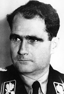 Rudolf Hess 20th-century German Nazi leader
