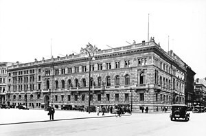 Federal Ministry of Finance (Germany) - Pre-war ministry on Wilhelmplatz, Berlin, 1930s