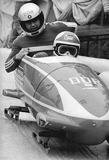 Bogdan Musioł East German bobsledder