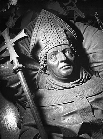 Ernst II of Saxony - Tomb of Ernest II in the Cathedral of Magdeburg, by Peter Vischer the Elder