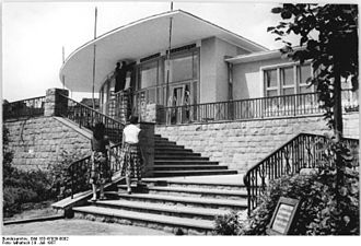 Volkspark am Weinberg - Café, 1957