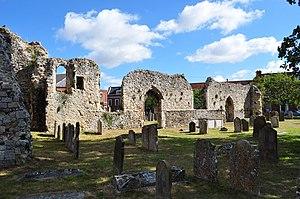 Bungay Priory - Ruins of Bungay Priory.