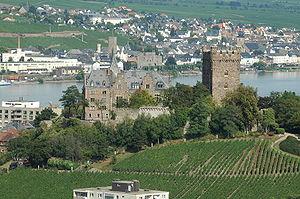 Bingen am Rhein - Klopp Castle