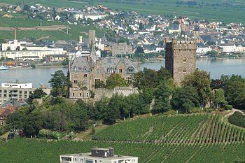 Burg Klopp in Bingen am Rhein, Germany