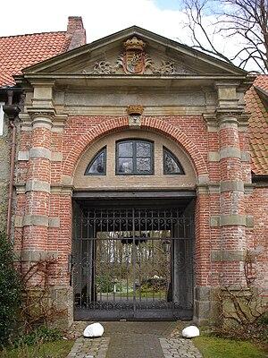 Berum Castle -  Baroque gatehouse