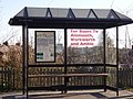 Bus Stop Outside Alnmouth Station - geograph.org.uk - 727402.jpg