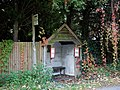 Bus stop at Nuthurst, West Sussex, England.jpg