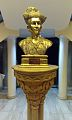 Bust of HH Maharaja Shrimant Yeshwant Rao II Holkar of Indore at the Yeshwant Club.jpg