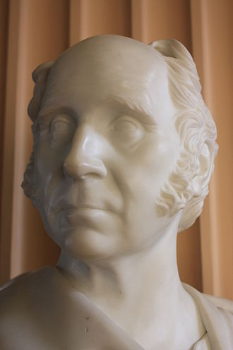 Thomas Charles Hope - Bust of Thomas Charles Hope by Sir John Steell, Old College, University of Edinburgh