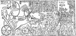 Siège et prise de la citadelle de Dapour par Ramsès II et son armée