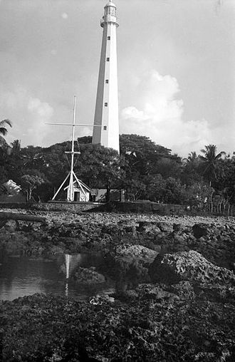 Anyer - Anyer lighthouse (1933)