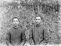COLLECTIE TROPENMUSEUM Res. Tapanoeli. Bataksche Christen onderwijzers TMnr 10000670.jpg
