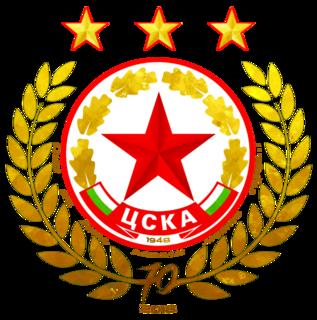 PFC CSKA Sofia Bulgarian association football club from the capital city of Sofia