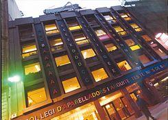 Delightful Colegio De Aparejadores, Arquitectos Técnicos E Ingenieros De Edificación  De Barcelona