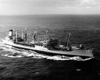 USS <i>Cacapon</i> (AO-52) Cimarron-class oiler