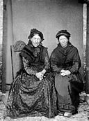 Cadi and Sioned, Llanfechell NLW3363376.jpg