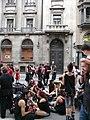 Caixa Catalunya - Correfoc infantil i preparatius del correfoc gran P1160672.JPG