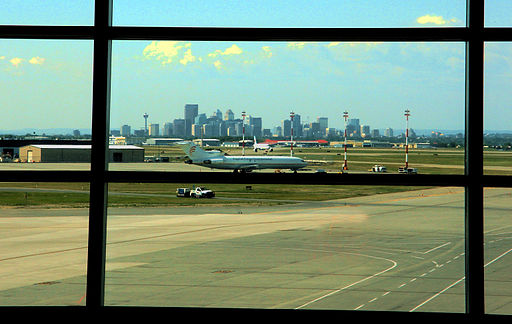 Calgary view from Airport