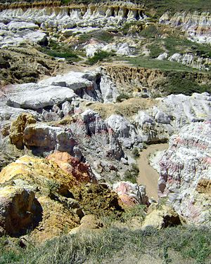 Calhan Paint Mines Archeological District - Image: Calhan Paint Mines Archeological District 01