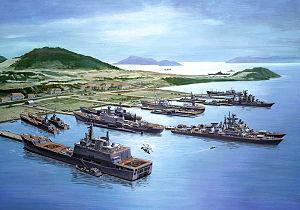 Cam Ranh Bay - Cam Ranh Naval base in concept