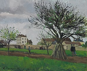 Apple Trees at Pontoise, the House of Père Gallien