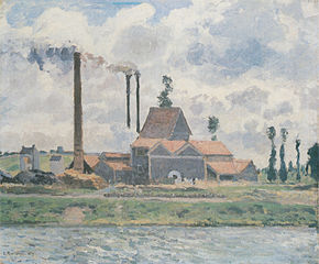 Factory at Saint-Ouen-l'Aumône