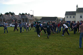 Cammag - The 2009 Cammag match in St John's