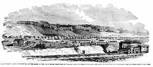 Ohio in the American Civil War - Camp Dennison near Cincinnati, Ohio, set up to train and drill Ohio soldiers.