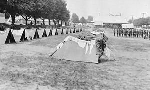Shelter-half - Image: Camp Crane Pup Tents