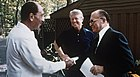 Camp David, Menachem Begin, Anwar Sadat, 1978.jpg