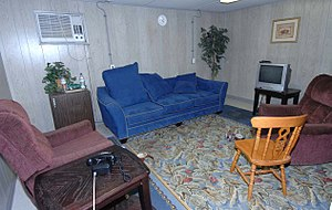 Ibrahim Othman Ibrahim Idris - Image: Camp one Guantanamo has a lounge for captives to phone home