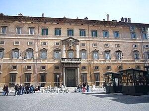 Palazzo Borghese - The main facade