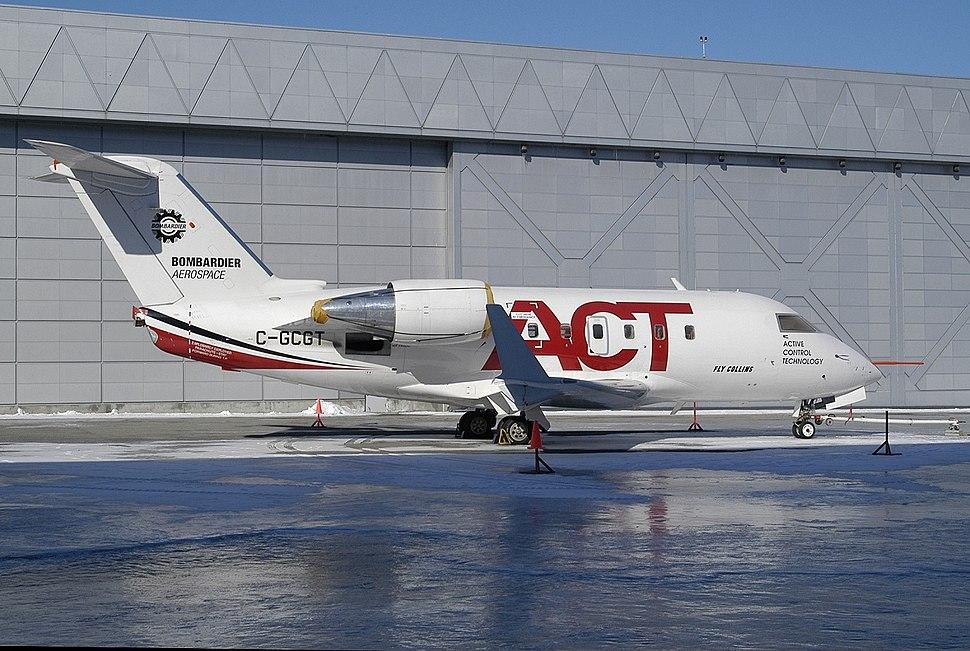 Canadair CL-600-1A11 Challenger 600, Bombardier AN1006238