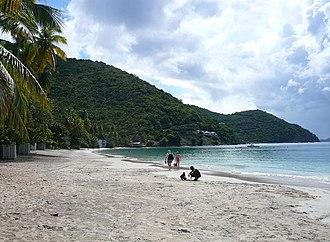 Tortola - Image: Cane Garden Bay, Tortola