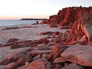 Dampier Peninsula - Cape Leveque at sunset
