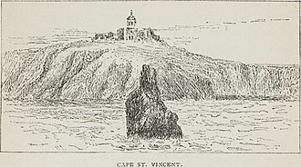 Cape St. Vincent - Image: Cape St. Vincent (1879) TIMEA