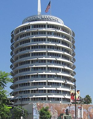 Smile (The Beach Boys album) - The Capitol Records Building in Hollywood