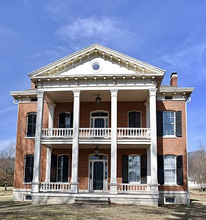 National Register of Historic Places listings in Pike County, Missouri - Image: Capt. George and Attella Barnard House
