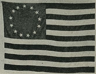 Columbia Rediviva - The American flag that circumnavigated the globe with Captain Gray on the Columbia.