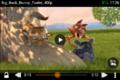 Captura de pantalla de VLC para Android 0.9.11 reproduciendo Big Buck Bunny.png