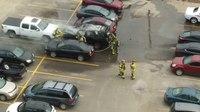 File:Car fire in Parking Lot, WINDSOR, 03-24-2019.webm