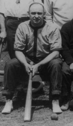 Carl G. Bachmann - Bachmann during the United States Congressional Baseball Game