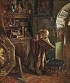 Carl Maria Seyppel (auch Karl Maria Seyppel, 1847 - 1913) , gemalt 1869, Titel - Connoisseur (Connaisseur et historien de l'art-Kunsthistoriker).jpg