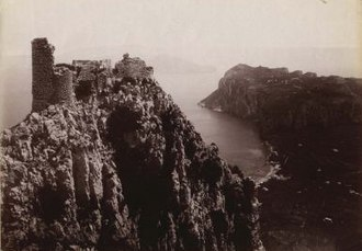 Castello Barbarossa - Photo of Castello Barbarossa from 1890