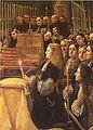 Carlos II de Espana recibe la sagrada forma (detalle), por Claudio Coello018.jpg