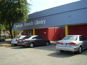 Northside, Houston - Carnegie Neighborhood Library